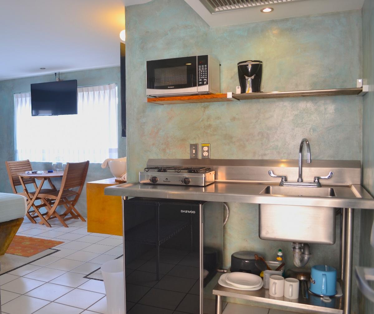 Habitación de lujo con cocineta-0