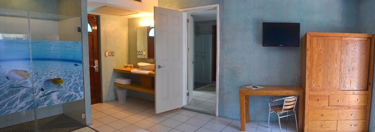 Habitación de lujo con cocineta-2